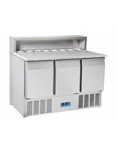 Saladette Refrigerata Inox...