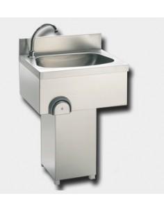 Lavamani a Colonna Inox -...