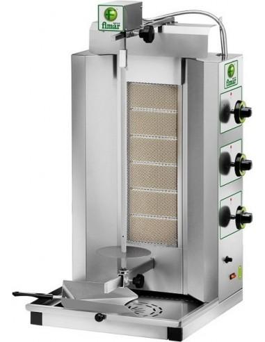 Gyros Kebab a Gas - N° 6 Bruciatori -...