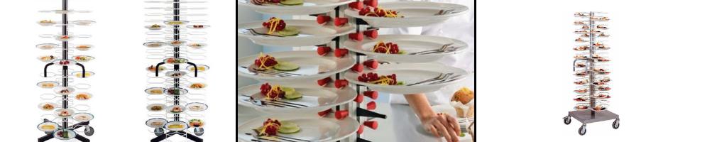 Carrelli Portapiatti - TopRistorazione Food Equipment