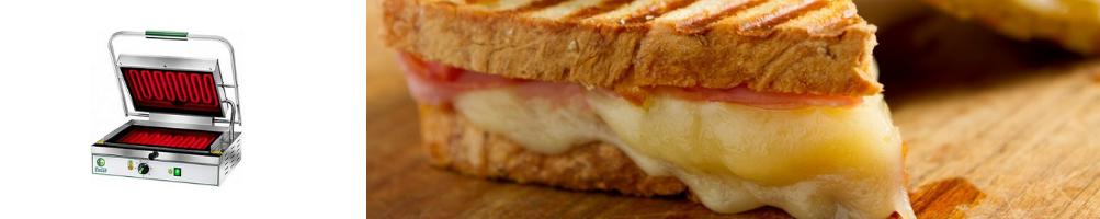 Piastre Toast e Piastre per Panini   Macchinari da banco