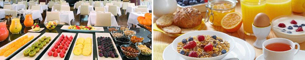 Accessori per buffet nella Sala Colazione di Hotel e Agriturismi