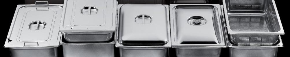 Bacinelle Gastronorm | Contenitori GN Inox